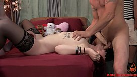 Teen Daughter Does Creampie...