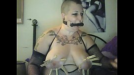 Gothic bbw chick from...