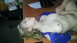Russian wife shared with friend at job.