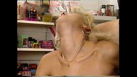 Slim and hairy old woman gettin banged