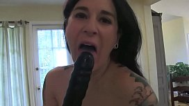 Angel Joanna loves her new toy she can use on her wet pussy