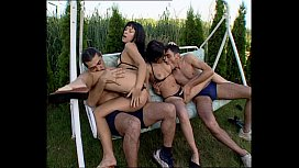 4Some hardcore outdoor...