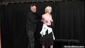 Tit tormented blondes extreme...