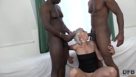 Super hardcore interracial fuck...