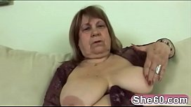 Gorgeous mature beauty loves the feeling of fat cock inside her