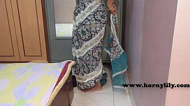Indian maid with no...