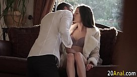 Babe gets ass pounded...