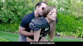 MYLF -Sexy Athletic Milf Plays With Balls