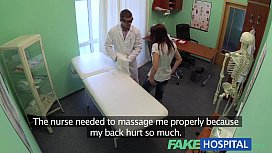 FakeHospital Pretty patient was...