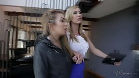 Sometimes you have to lick their assholes! - Brett Rossi and Kat Dior