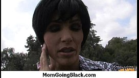 Your mother goes for a big black cock 13