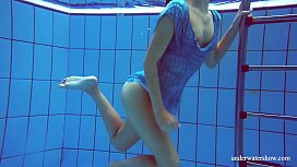 Marusia underwater mermaid hot redhead