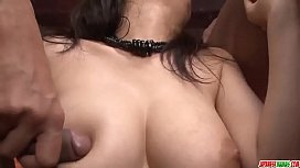 Threesome extreme for busty...