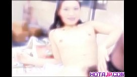 Insolent Asian babe hard...