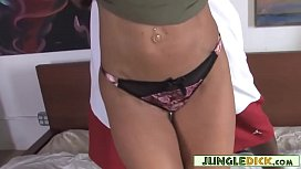 Seductive Redhead Cougar Playing With Her Black Boy Toy - Janet Mason
