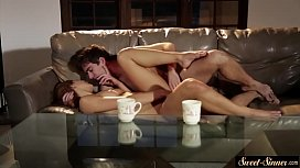 Gorgeous stepsis pounded by her stepbro