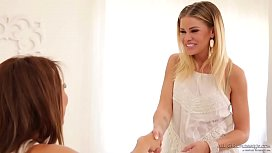 Did you just lick me?! - Jessa Rhodes and Ayumi Anime