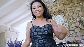 Lucky Starr is an Asian MILF that loves her stepson so much.She knows how to takes care of him and even gave him a fuck lessons for today.