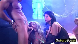 Sharing Neon Strippers Double Penetration Hillary Scott and Tory Lane