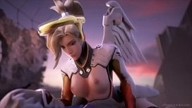 Mercy Love Overwatch Compilation...