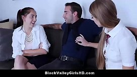 Ebony Teen Geek Noemie Bilas Turns Chic &amp_ Fucks Hot White Guy - Imanityler.com