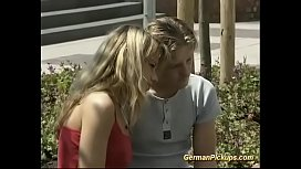 Horny young german couple...