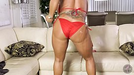 Ava Devine Oiled-Up...