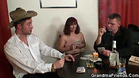 Threesome after poker with...