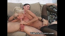 Older MILF Pleasured By...