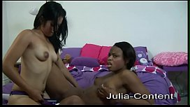 Two lesbians fuck each other and pamper themselves
