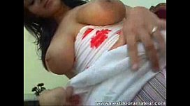 Big titted babe gets...