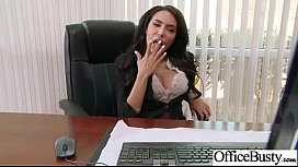 Busty Office Girl lela...