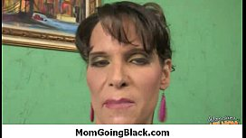 Watching my mommy riding a huge black monster cock 23