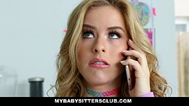 MyBabySittersClub - Adorable Babysitter (Lily Ford) Fucks Hot Boss