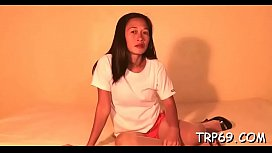 Seductive asian girl can'_t live without it gently and gets nailed nice