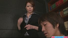 8170220: Hot Japanese chick Hojo Maki manhandled