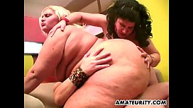 Amateur anal threesome with...