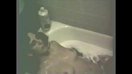 Wife Colleen Caught Playing in Bath