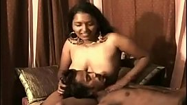 Indian sexy bhabhi feeding...