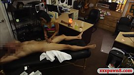 Oriental girl pounded by nasty pawn dude