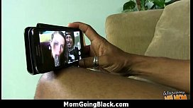 Huge Black Meat Going into Horny Mom 20