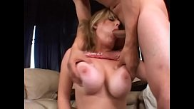 Horny blonde with huge breasts Kala Prettyman gets her hairy pussy fucked