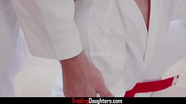 Karate With Dad'_s Dick- Ashley Red &amp_ Luna Light