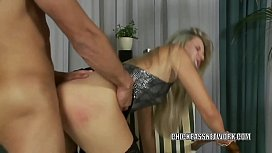 Blonde slut Cherry Jul...