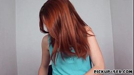 Pretty red haired Czech...