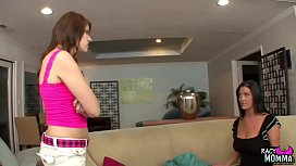 Lonely stepmom pussylicked by...