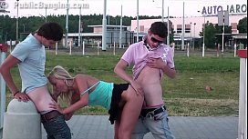 Incredible extreme public sex...
