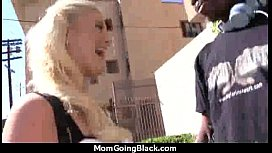 Huge Black Meat Going into Horny Mom 5