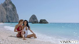 VIXEN Two best friends let loose on vacation