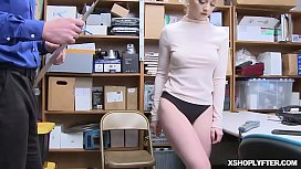 Teen Athena Rayne gets a hard fuck from the LP Officer!